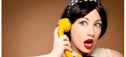 phone lady